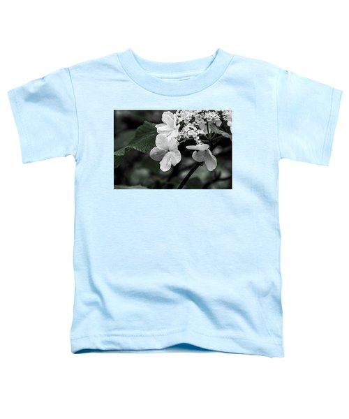 Flower And Rain Drops  8645 Toddler T-Shirt