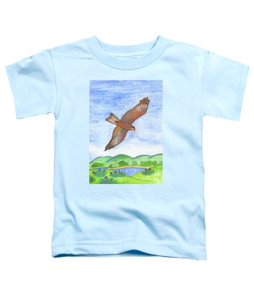 Flying Hawk Toddler T-Shirt