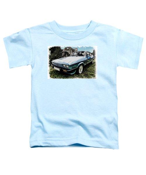 Ford Capri 3.8i Pencil V2 Toddler T-Shirt