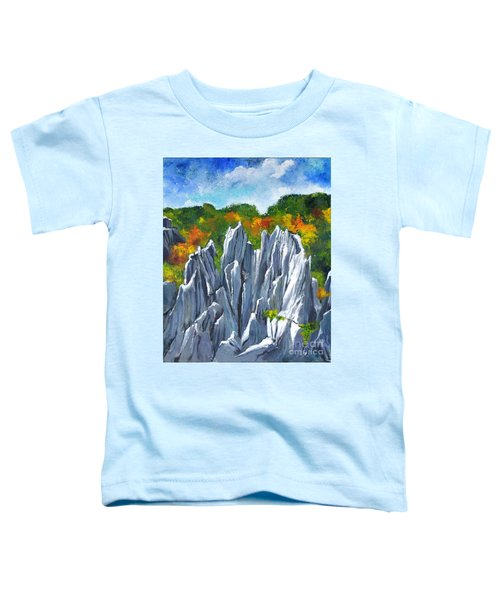 Forest Of Stones Toddler T-Shirt