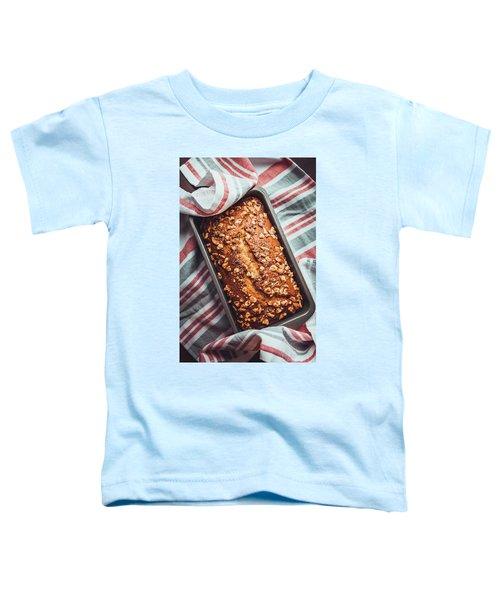 Freshly Baked Banana Bread Toddler T-Shirt
