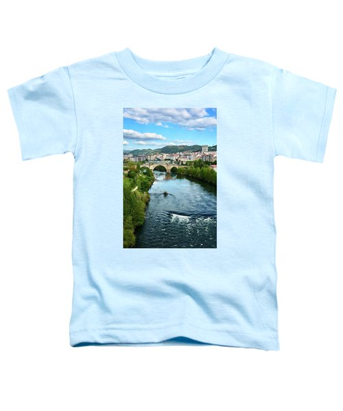 From The Top Of The Millennium Bridge Toddler T-Shirt