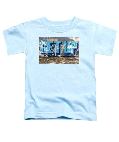 Get Up Augusta Ga Mural  Toddler T-Shirt