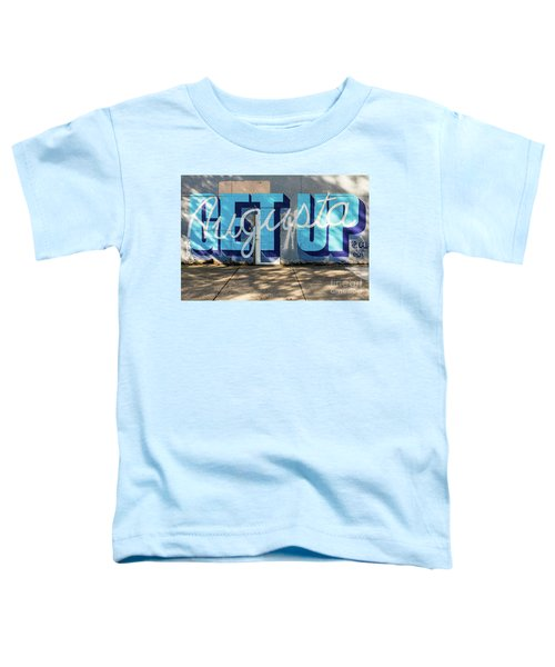 Get Up Augusta Ga Mural  Toddler T-Shirt