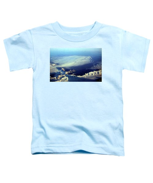 Glacier Pushes Out Toddler T-Shirt