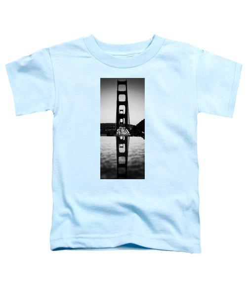 Golden Gate Reflection Toddler T-Shirt