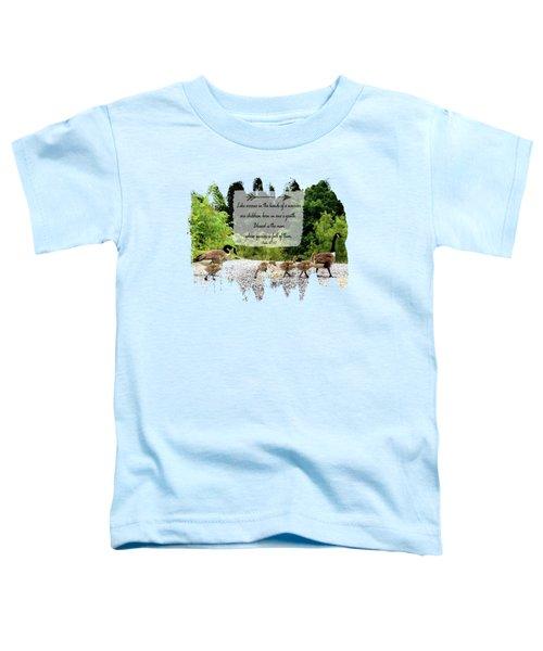 Goose Family - Verse Toddler T-Shirt