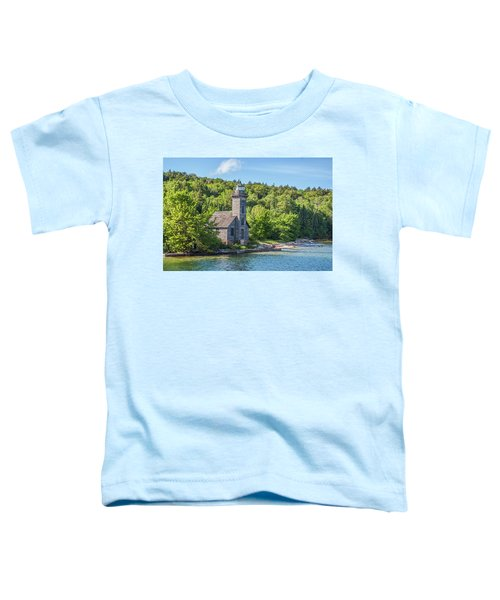 Grand Island East Channel Lighthouse, No. 2 Toddler T-Shirt