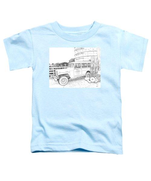 Harvest At Magnolia - Ink Toddler T-Shirt
