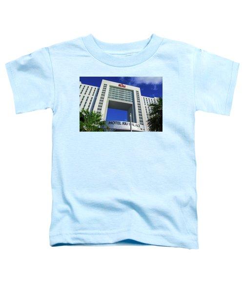 Hotel Riu Palace In Cancun Toddler T-Shirt