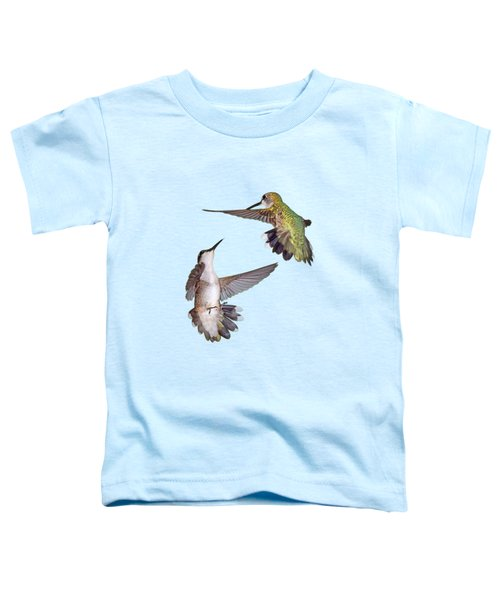 Hummingbirds - Defensive Dance Toddler T-Shirt