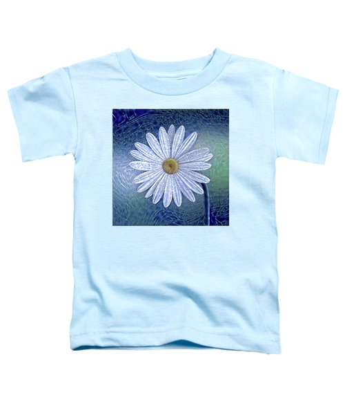 Ice Daisy Flower Toddler T-Shirt
