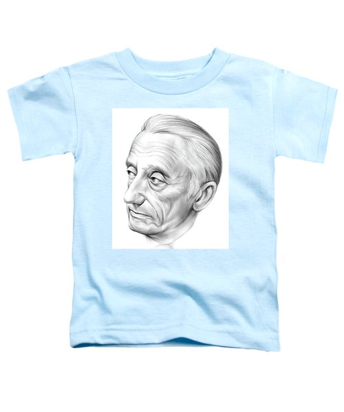 Jacques-yves Cousteau Toddler T-Shirt