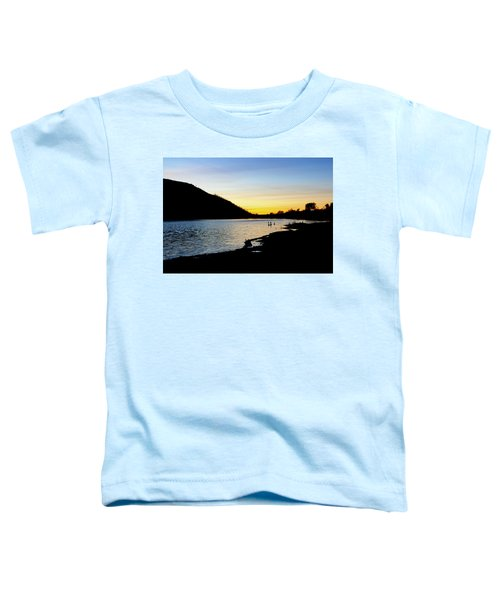 Lake Cuyamaca Sunset Toddler T-Shirt