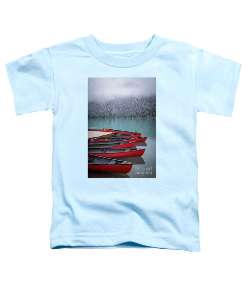Lake Louise Canoes Toddler T-Shirt