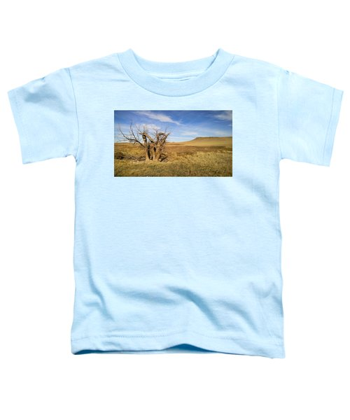 Toddler T-Shirt featuring the photograph Last Stand by Carl Young