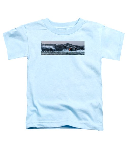 Lava Entering The Sea IIi Toddler T-Shirt