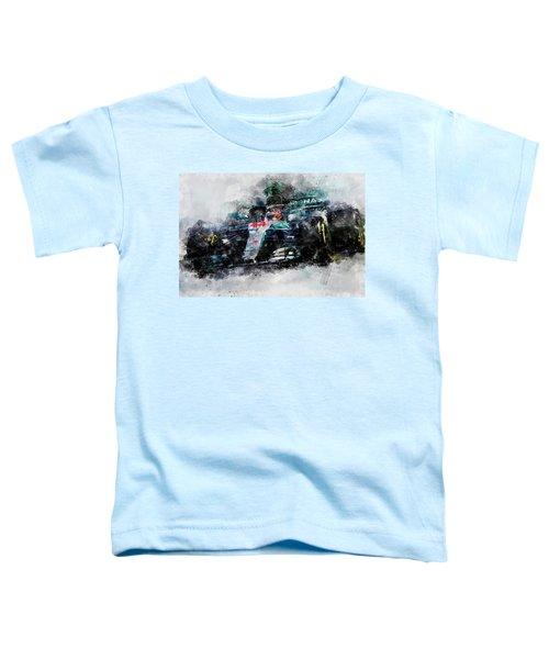 Lewis Hamilton, Mercedes Amg F1 W09 - 10 Toddler T-Shirt