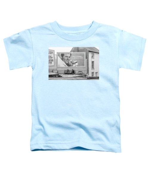 Lighting Up For A Quick Smoke Toddler T-Shirt