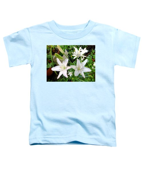 Lily White Toddler T-Shirt