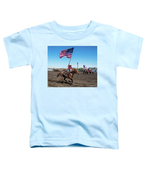 Long May It Wave Toddler T-Shirt