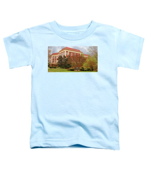Chichester Hall At Longwood University Farmville Virginia Toddler T-Shirt