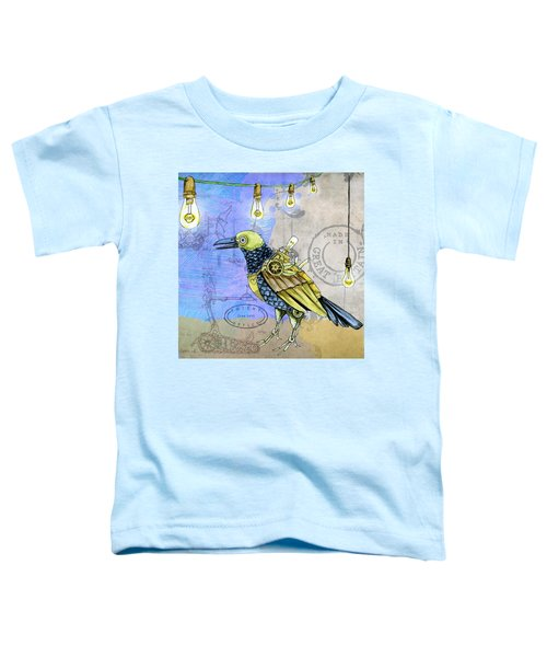 Machine Bird Toddler T-Shirt