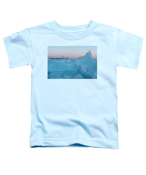 Mackinac Bridge In Ice 2161805 Toddler T-Shirt