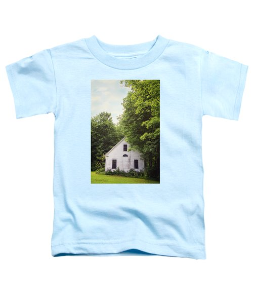 Maine School House Toddler T-Shirt