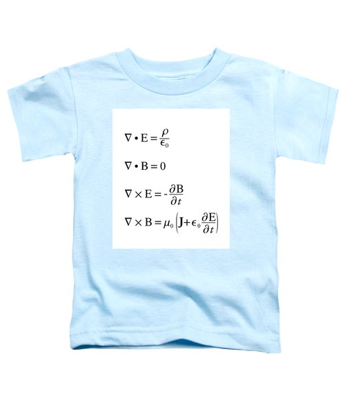Maxwell's Equations Toddler T-Shirt