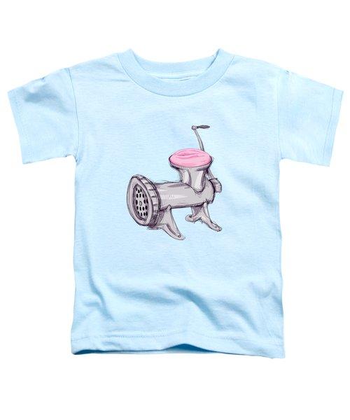 Meat Grinder Toddler T-Shirt
