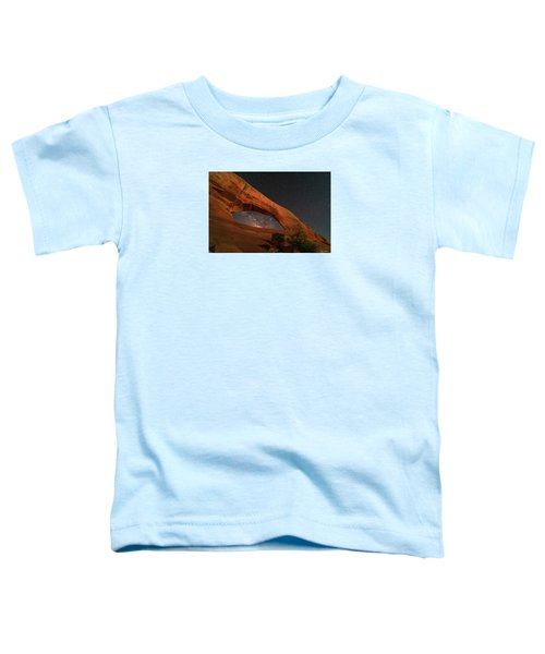 Milky Way Framed By Wilson Arch Toddler T-Shirt