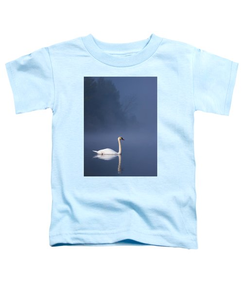 Misty River Swan 2 Toddler T-Shirt