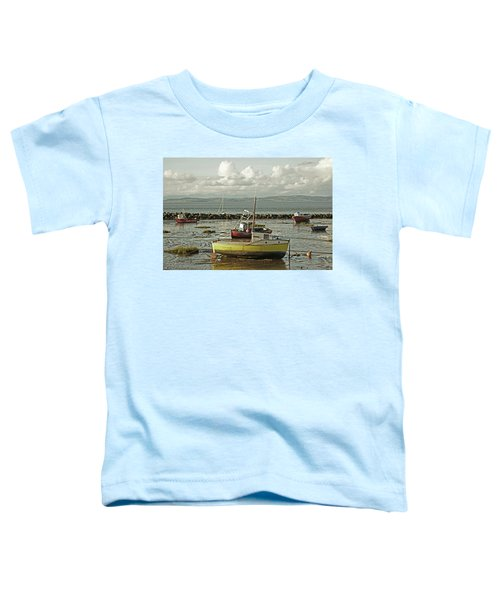 Morecambe. Boats On The Shore. Toddler T-Shirt
