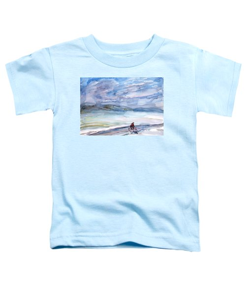 Morning Bike Ride Toddler T-Shirt