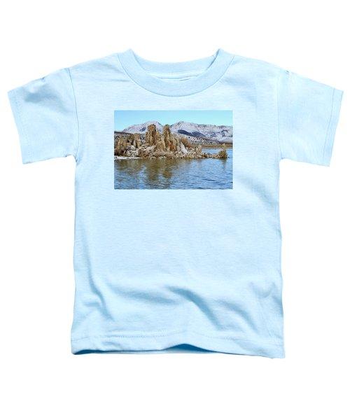 Mount Dana At Dawn  Mono Lake Toddler T-Shirt