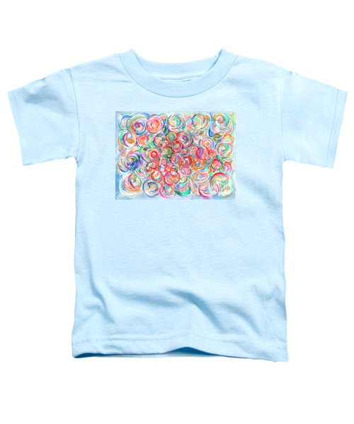 Multicolor Bubbles Toddler T-Shirt