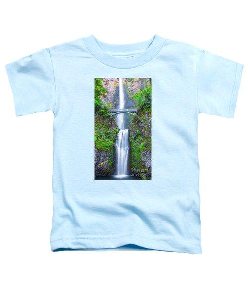 Multnomah Falls Toddler T-Shirt