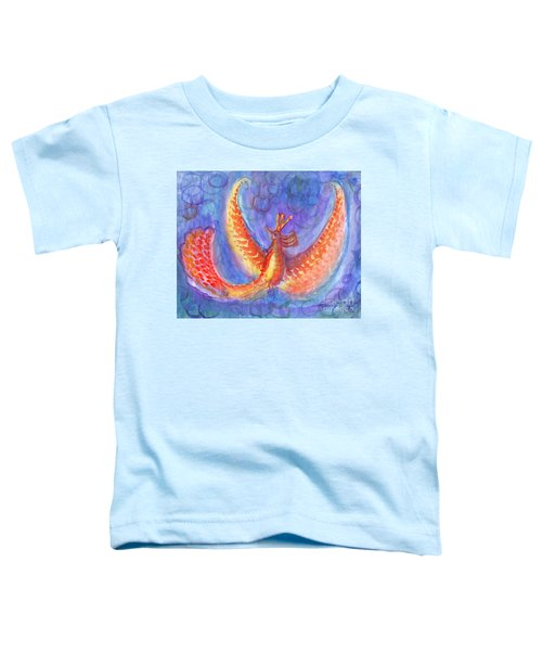Mystical Phoenix Toddler T-Shirt
