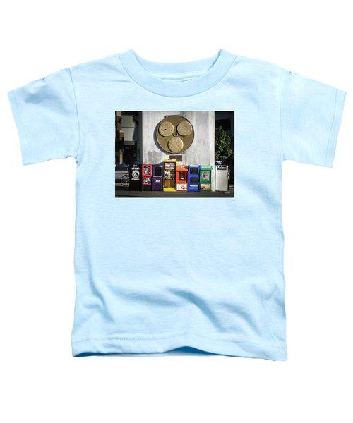 Newsstands At Gilmore Toddler T-Shirt