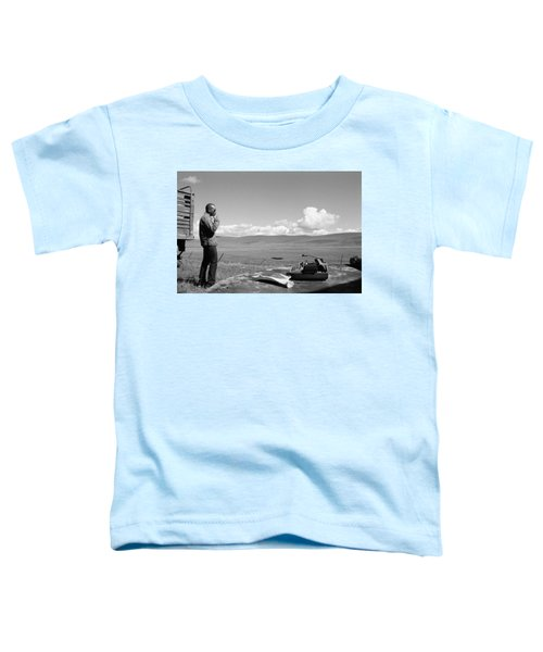 Toddler T-Shirt featuring the photograph Office Of The Poet by Carl Young