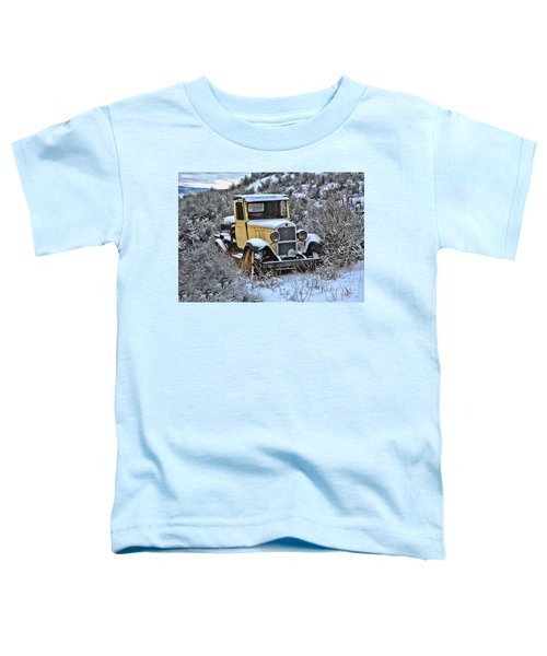 Old Yellow Truck Toddler T-Shirt