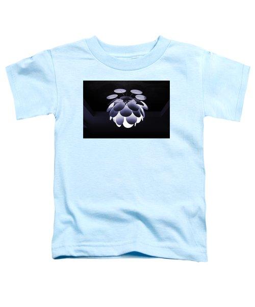 Ornamental Ceiling Light Fixture - Blue Toddler T-Shirt