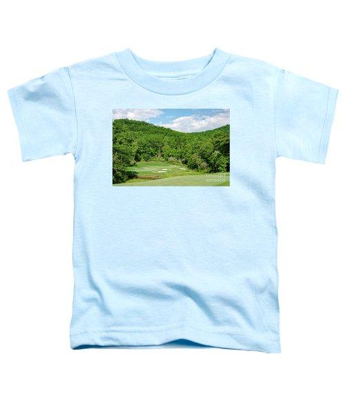 Par 3 Hole 16 Toddler T-Shirt