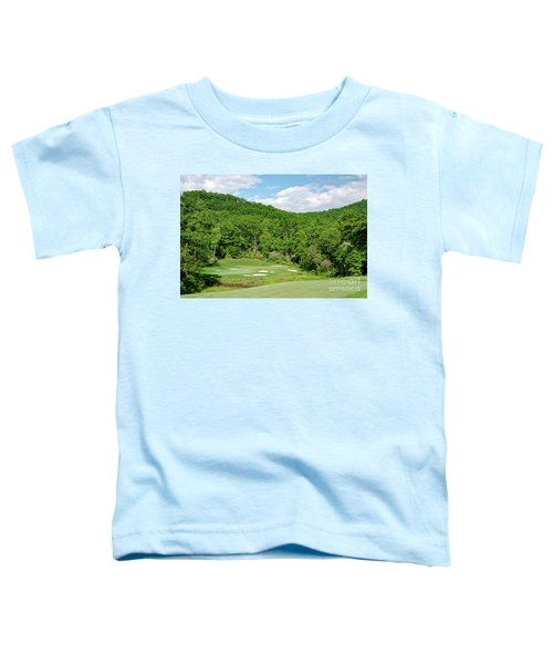 Par 3 Hole 16 Toddler T-Shirt