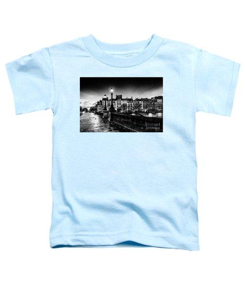 Paris At Night - Pont Neuf Toddler T-Shirt