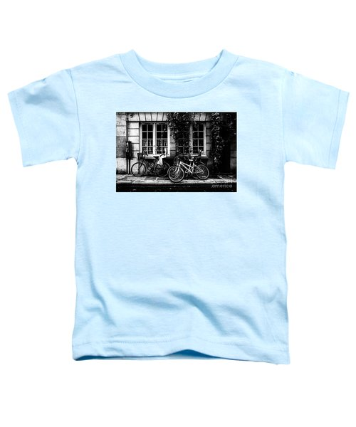 Paris At Night - Rue Poulletier Toddler T-Shirt