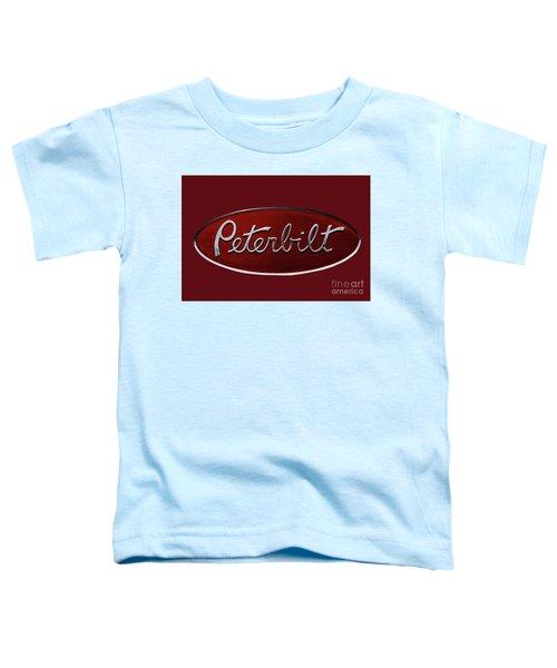Peterbilt Emblem Red 8 Toddler T-Shirt