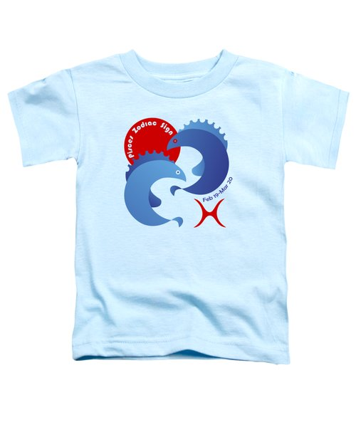 Pisces - Fishes Toddler T-Shirt