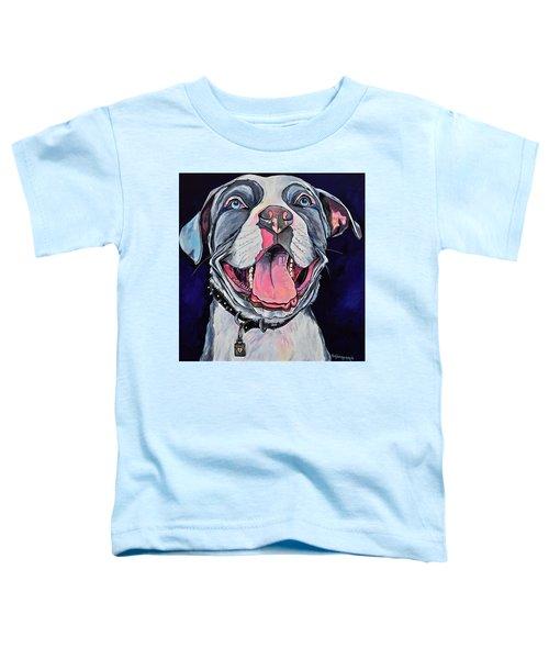 Pit Bull Love Toddler T-Shirt